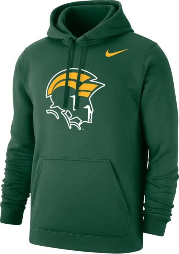 Nike Men's Norfolk State Spartans Green Club Pullover Fleece Hoodie product image