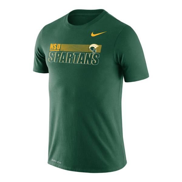 Nike Men's Norfolk State Green Legend Performance T-Shirt product image