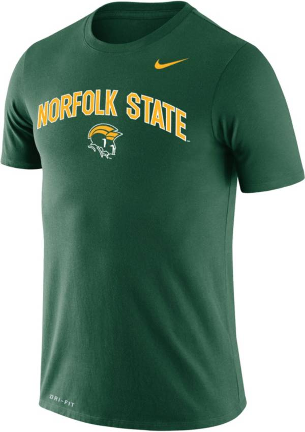 Nike Men's Norfolk State Spartans Green Dri-FIT Legend T-Shirt product image