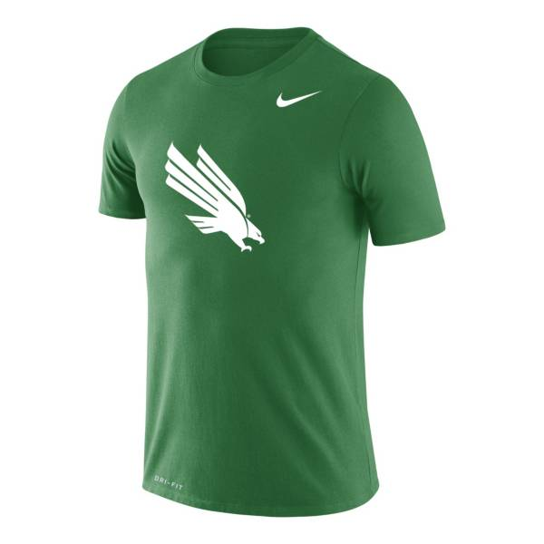Nike Men's North Texas Mean Green Kelly Green Legend Logo T-Shirt product image