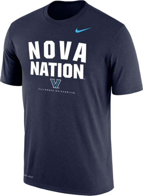 Nike Men's Villanova Wildcats Navy  T-Shirt product image