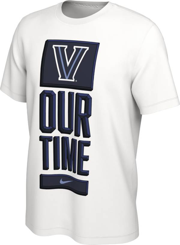 Nike Men's Villanova Wildcats 'Our Time' Bench White T-Shirt product image