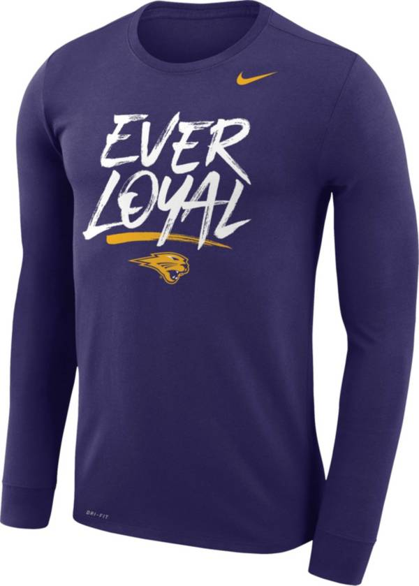 Nike Men's Northern Iowa Panthers Purple Dri-FIT Phrase T-Shirt product image
