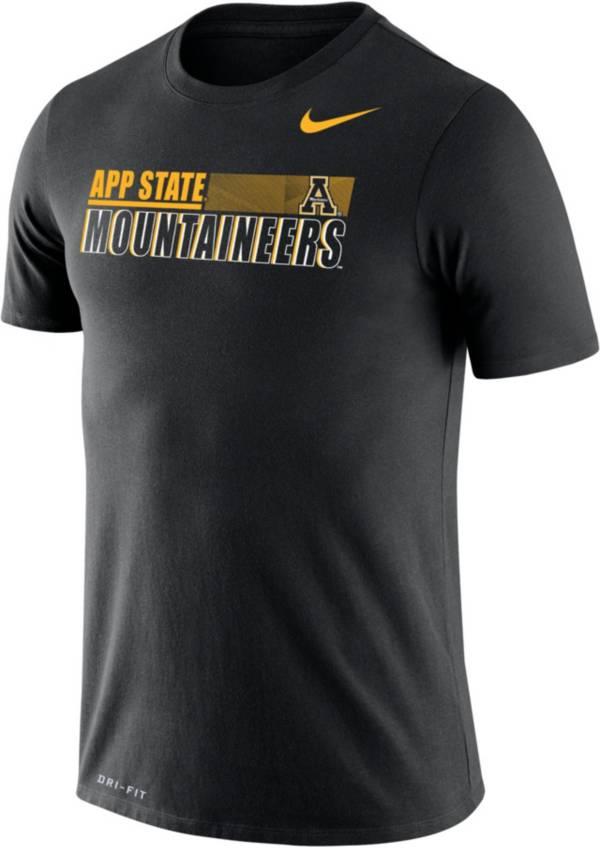 Nike Men's Appalachian State Black Legend Performance T-Shirt product image