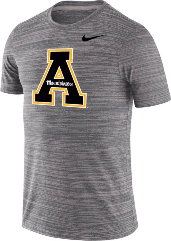 Nike Men's Appalachian State Mountaineers Grey Velocity Performance T-Shirt product image