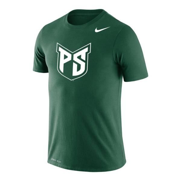 Nike Men's Portland State Green Logo Legend Performance T-Shirt product image