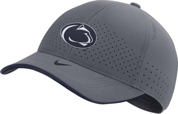 Nike Men's Penn State Nittany Lions Grey Low-Pro L91 Adjustable Hat product image
