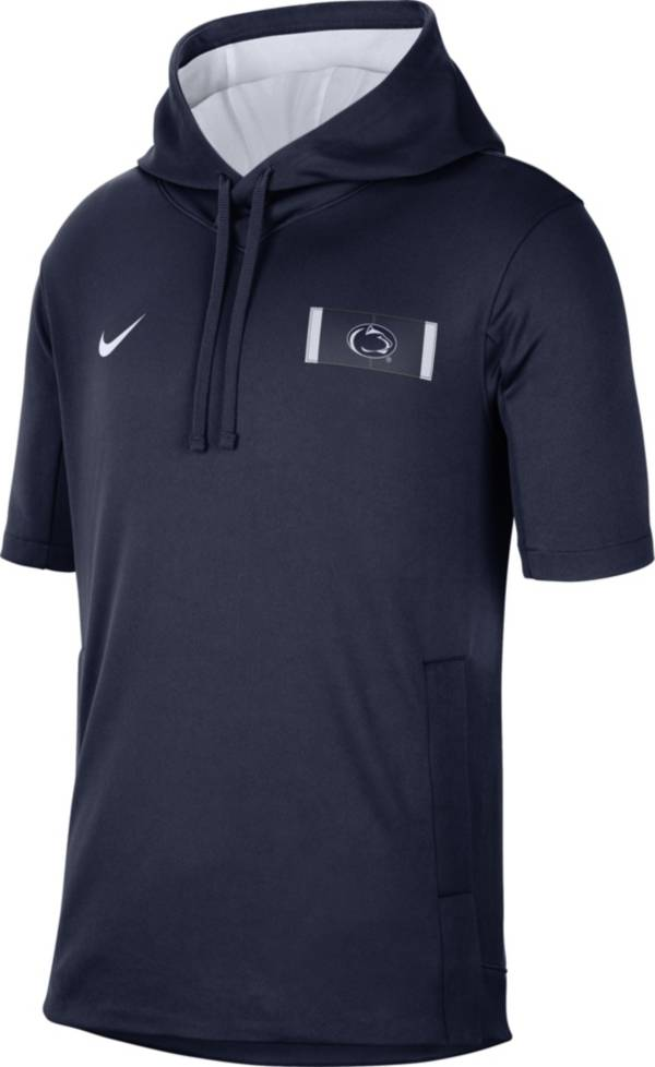 Nike Men's Penn State Nittany Lions Blue Showout Short Sleeve Hoodie product image