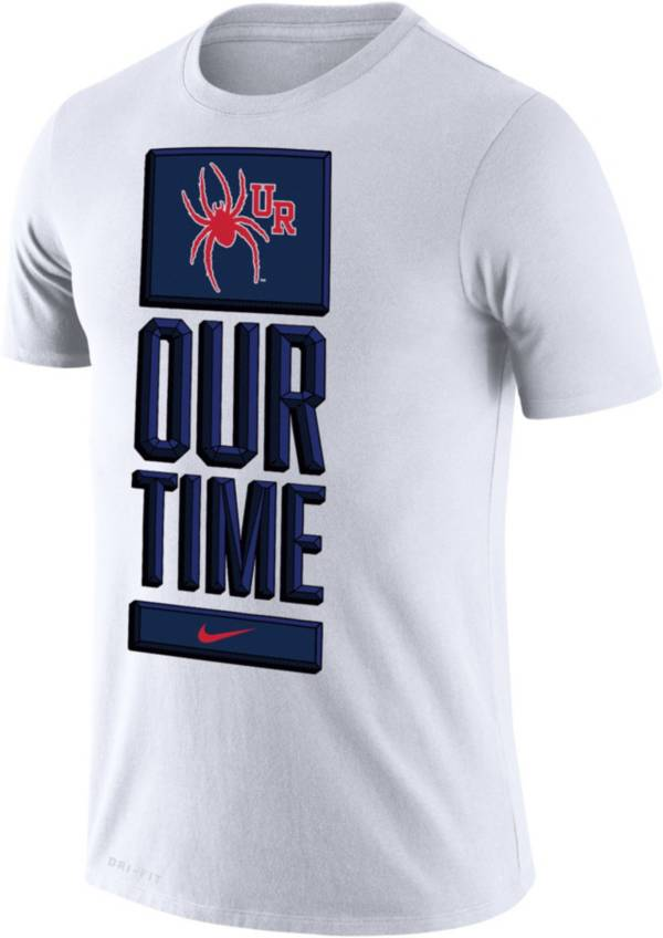 Nike Men's Richmond Spiders 'Our Time' Bench White T-Shirt product image