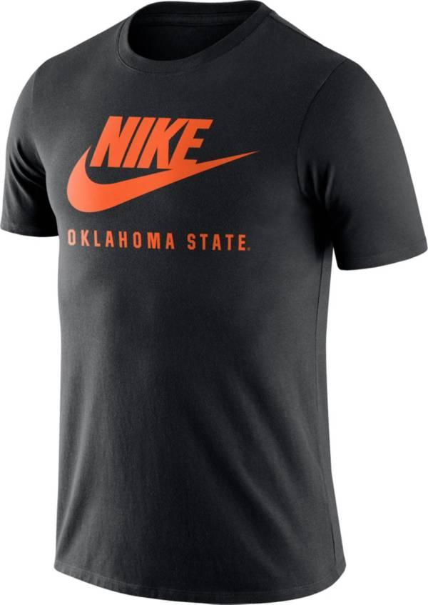 Nike Men's Oklahoma State Cowboys Black Futura T-Shirt product image