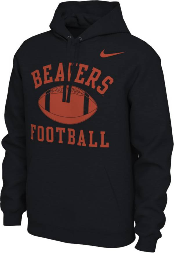 Nike Men's Oregon State Beavers Black Pullover Football Hoodie product image
