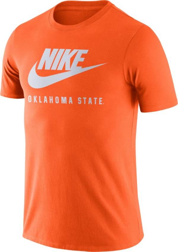 Nike Men's Oklahoma State Cowboys Orange Futura T-Shirt product image