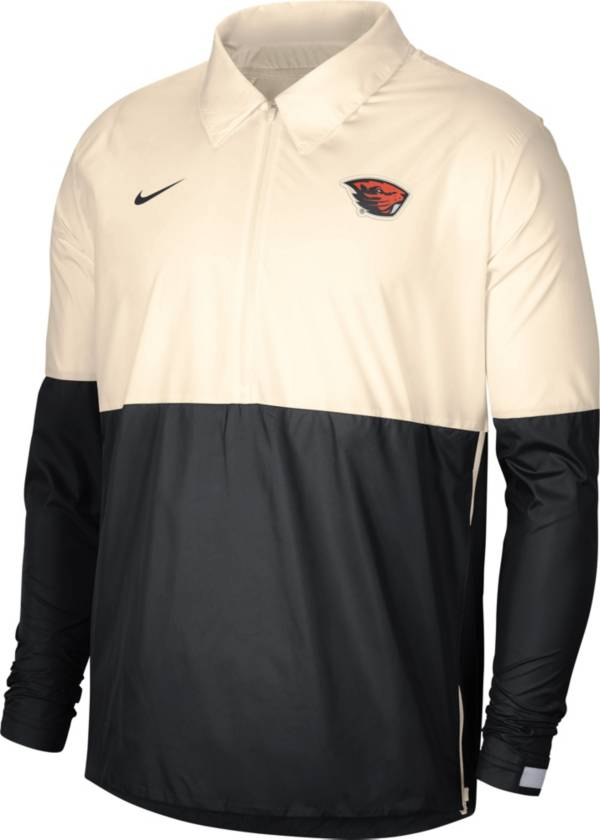 Nike Men's Oregon State Beavers Ivy/Black Lightweight Football Coach's Jacket product image