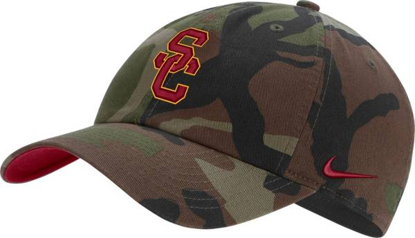 Nike Men's USC Trojans Camo Heritage86 Adjustable Hat product image