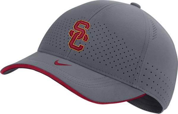 Nike Men's USC Trojans Grey Low-Pro L91 Adjustable Hat product image