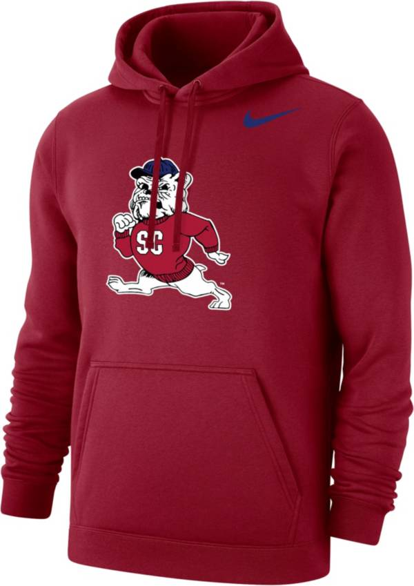 Nike Men's South Carolina State Bulldogs Garnet Club Pullover Fleece Hoodie product image