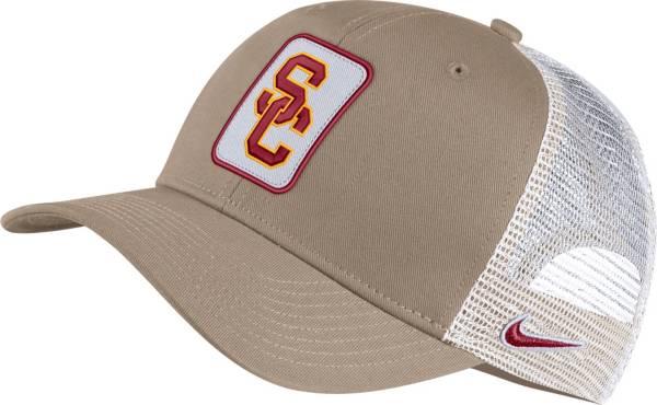 Nike Men's USC Trojans Tan Classic99 Trucker Hat product image