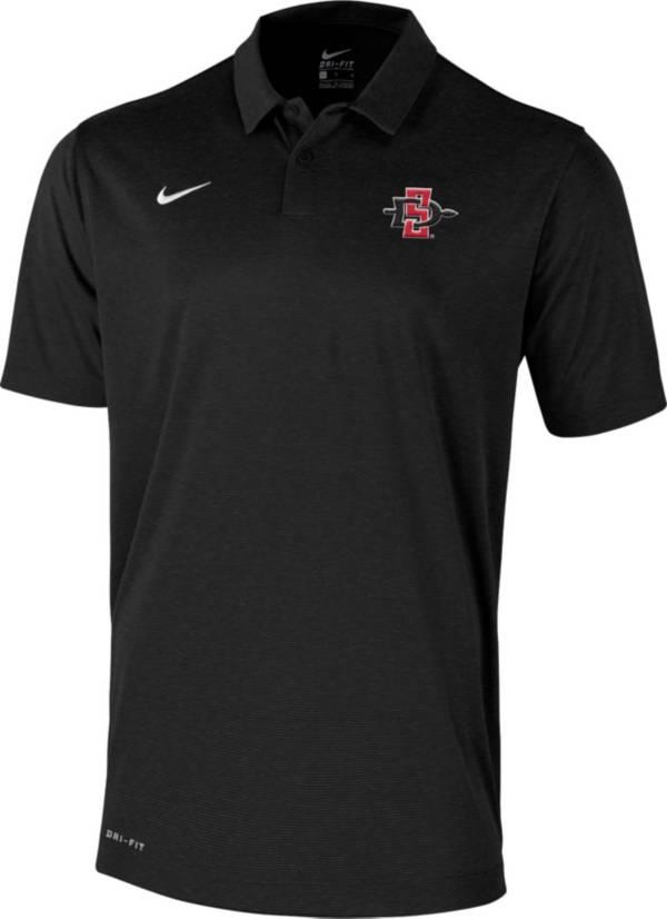 Nike Men's San Diego State Aztecs Scarlet  Polo product image