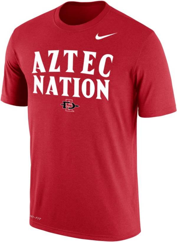 Nike Men's San Diego State Aztecs Scarlet  T-Shirt product image