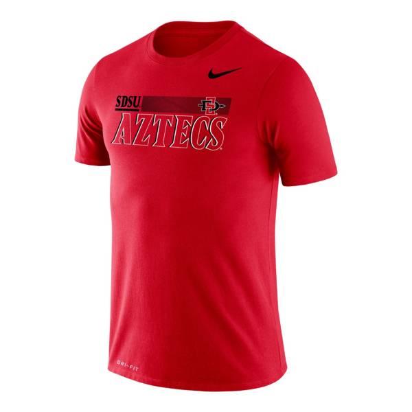 Nike Men's San Diego State Scarlet Legend Performance T-Shirt product image