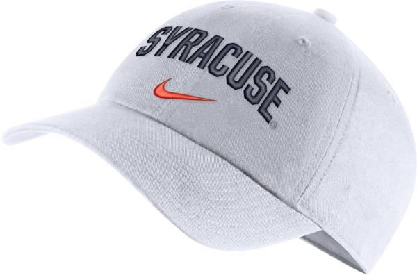 Nike Men's Syracuse Orange Heritage86 Arch Wordmark White Hat product image