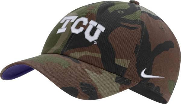 Nike Men's TCU Horned Frogs Camo Heritage86 Adjustable Hat product image