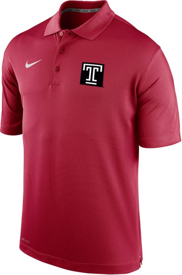 Nike Men's Temple Owls Cherry Varsity Polo product image
