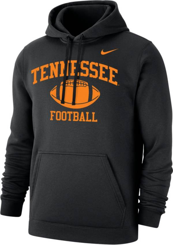 Nike Men's Tennessee Volunteers Phys Ed Club Pullover Black Hoodie product image
