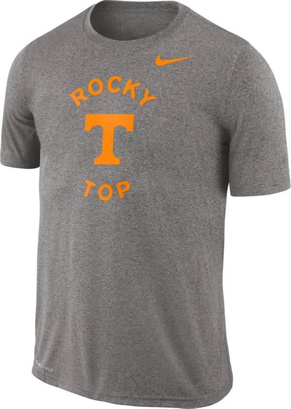 Nike Men's Tennessee Volunteers Grey Legend Lift Football T-Shirt product image