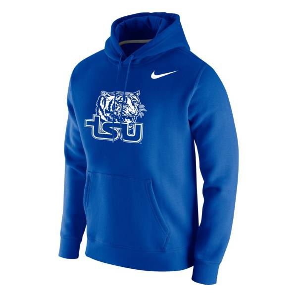 Nike Men's Tennessee State Tigers Royal Club Fleece Pullover Hoodie product image