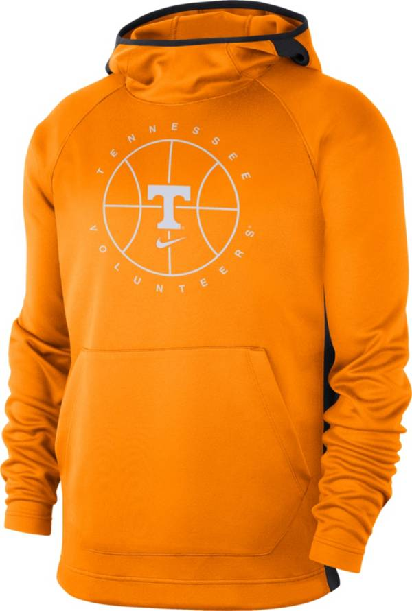 Nike Men's Tennessee Volunteers Tennessee Orange Spotlight Basketball Pullover Hoodie product image
