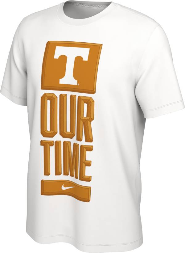 Nike Men's Tennessee Volunteers 'Our Time' Bench White T-Shirt product image