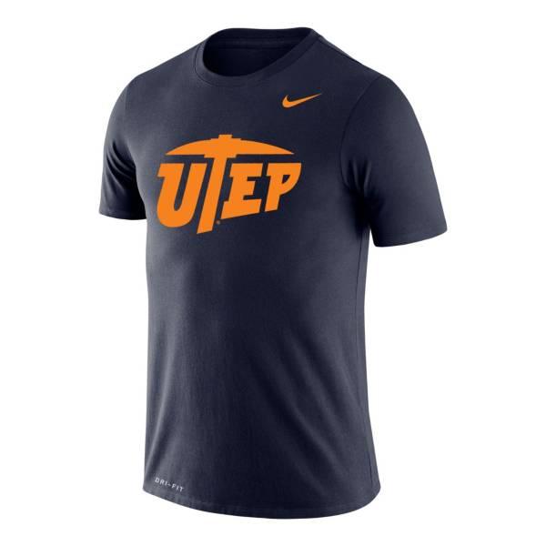 Nike Men's UTEP Miners Navy Legend Logo T-Shirt product image