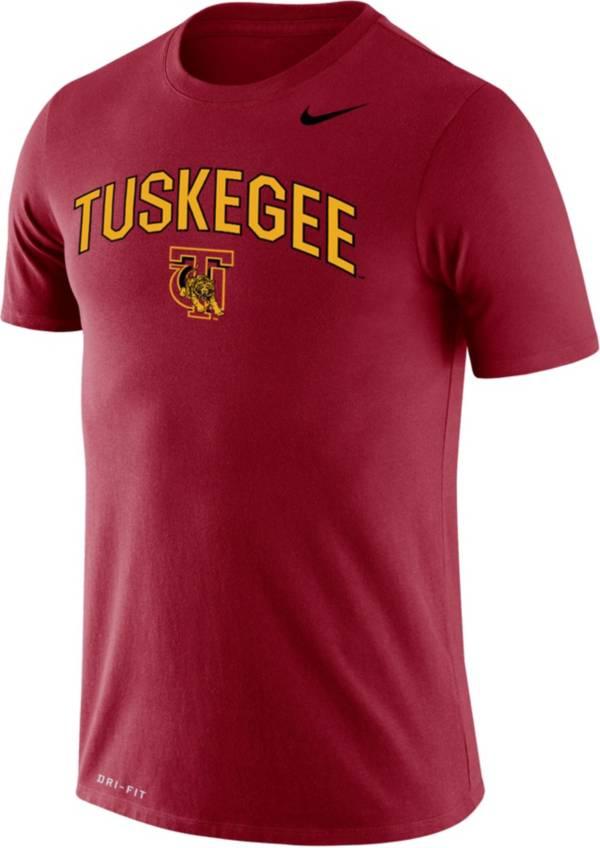 Nike Men's Tuskegee Golden Tigers Crimson Dri-FIT Legend T-Shirt product image