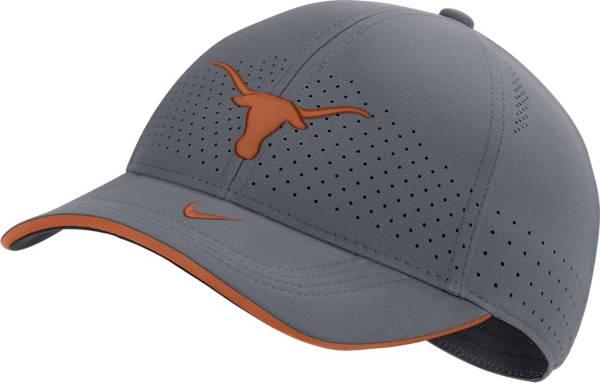 Nike Men's Texas Longhorns Grey Low-Pro L91 Adjustable Hat product image