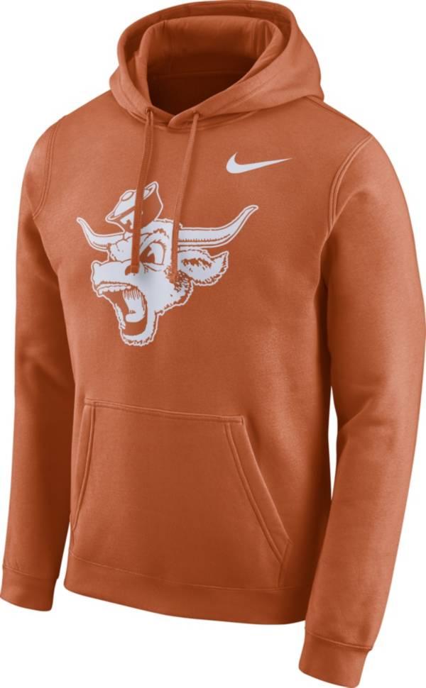 Nike Men's Texas Longhorns Burnt Orange Club Vault Pullover Hoodie product image