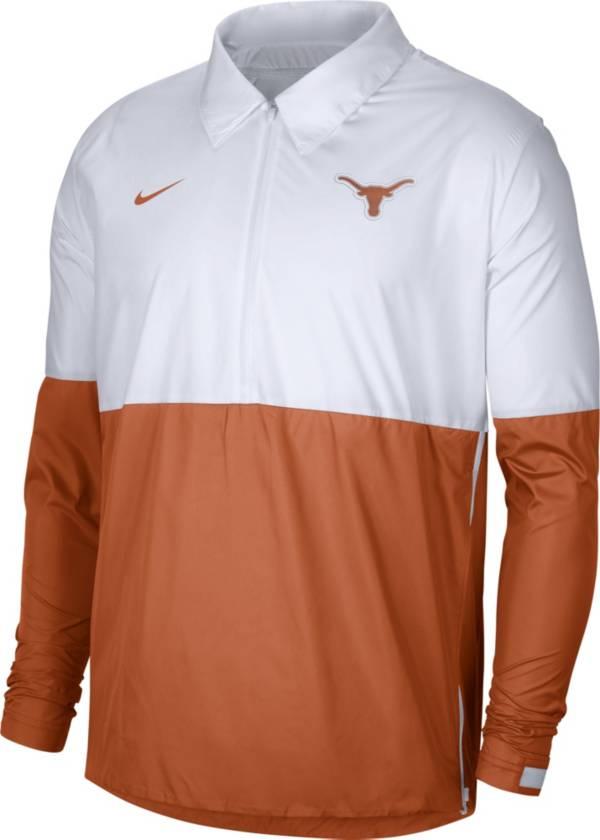Nike Men's Texas Longhorns White/Burnt Orange Lightweight Football Coach's Jacket product image