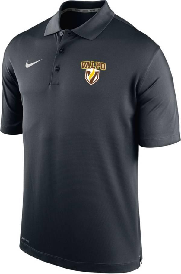 Nike Men's Valparaiso Varsity Black Polo product image
