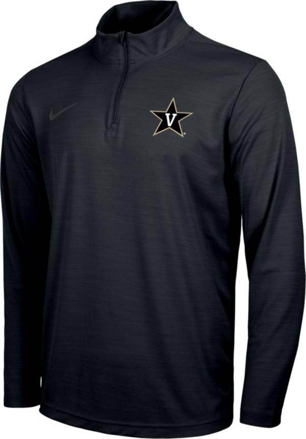 Nike Men's Vanderbilt Commodores Intensity Quarter-Zip BlackShirt product image
