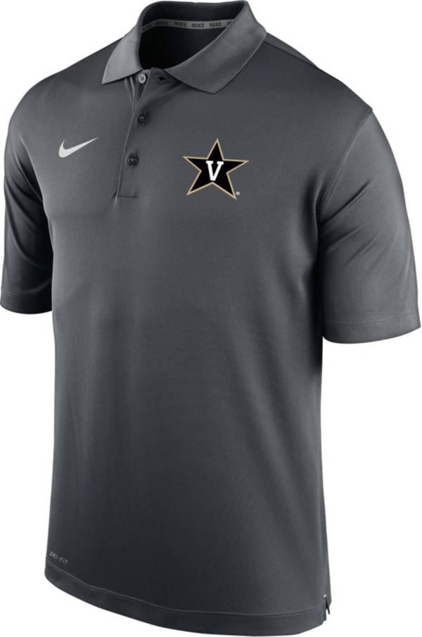 Nike Men's Vanderbilt Commodores Grey Varsity Polo product image