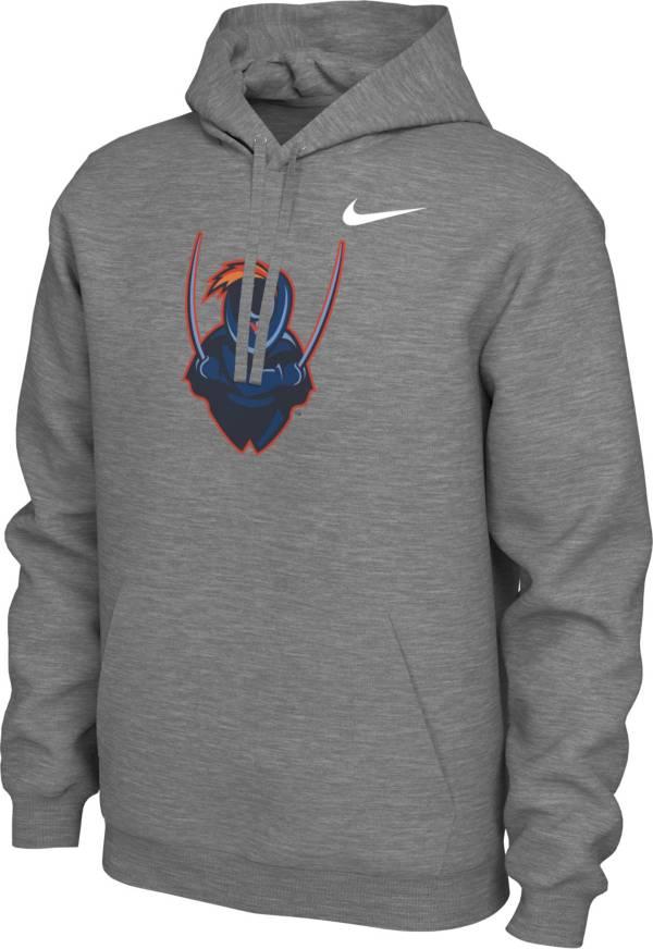 Nike Men's Virginia Cavaliers Grey Pullover Cotton Hoodie product image