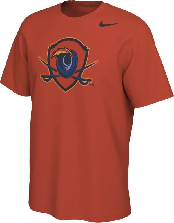 Nike Men's Virginia Cavaliers Orange Dri-FIT Legend Long Sleeve T-Shirt product image