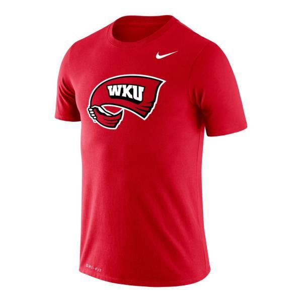 Nike Men's Western Kentucky Hilltoppers University Red Legend Logo T-Shirt product image
