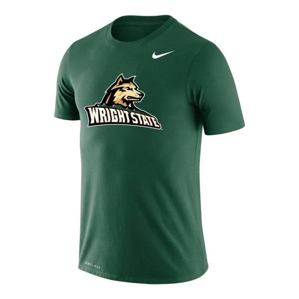 Nike Men's Wright State Raiders Green Legend Logo T-Shirt product image