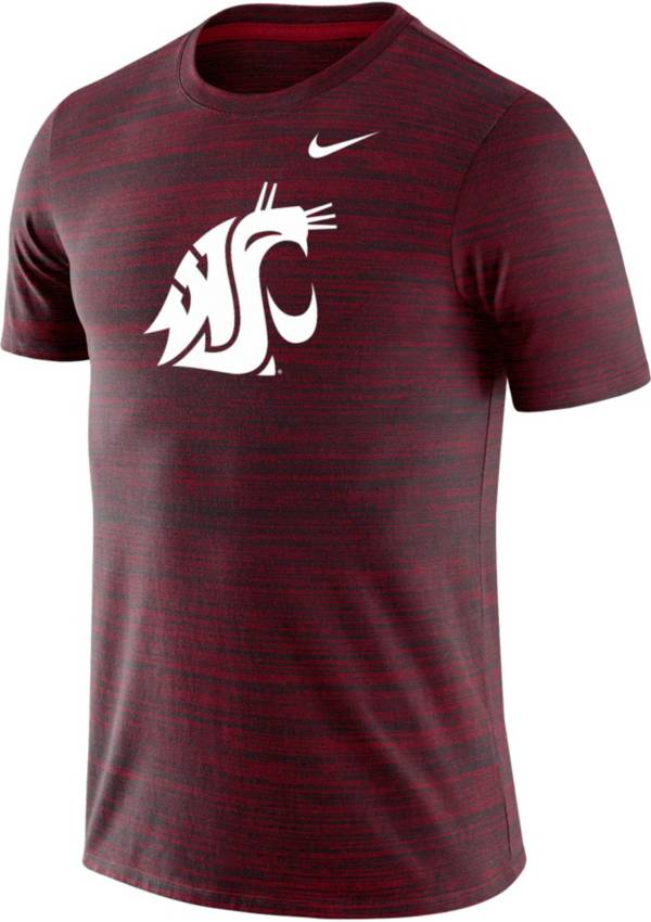 Nike Men's Washington State Cougars Crimson Velocity Performance T-Shirt product image