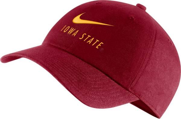 Nike Men's Iowa State Cyclones Cardinal Heritage86 Adjustable Hat product image