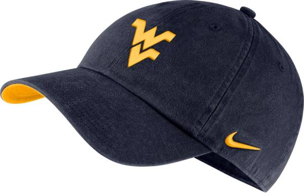 Nike Men's West Virginia Mountaineers Blue Washed Heritage86 Hat product image