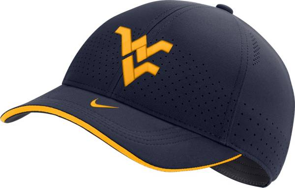 Nike Men's West Virginia Mountaineers Blue Low-Pro L91 Adjustable Hat product image