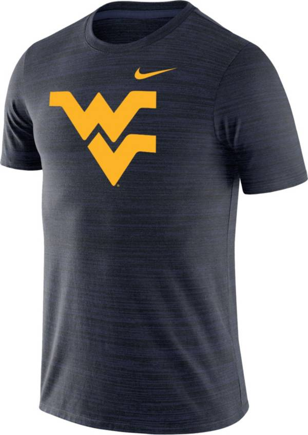 Nike Men's West Virginia Mountaineers Blue Velocity Performance T-Shirt product image