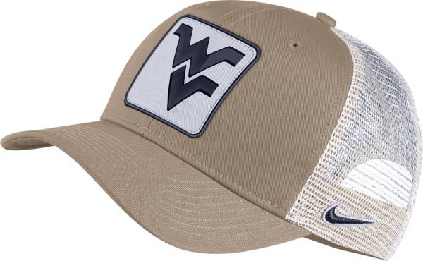 Nike Men's West Virginia Mountaineers Tan Classic99 Trucker Hat product image